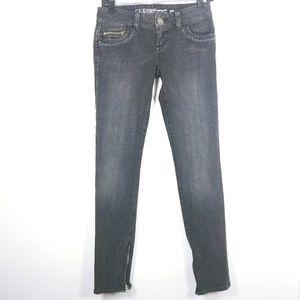 Guess Jeans Daredevil Skinny Black Gray